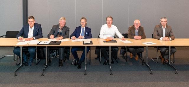 Ondertekening samenwerkingsovereenkomst Windpark Elzenburg – De Geer